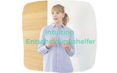 <strong>Führungsentscheidung in new work - warum wir unsere Intuition brauchen</strong>